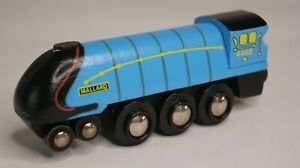 BIG JIGS WOODEN TRAIN MALLARD BRIO ELC COMPATIBLE