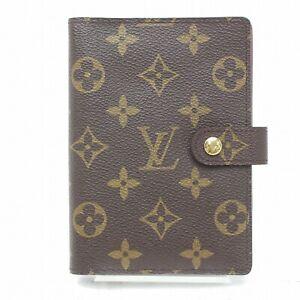 Louis Vuitton Diary Cover Agenda PM Brown Monogram 316640