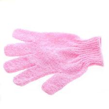 1Pc Women Shower Bath Glove Body Healthy Scrubber Wash Skin Spa Massage Pink
