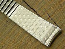 NOS Endura Stainless Vintage Center Expansion Watch Band 17.5mm Mens Unused