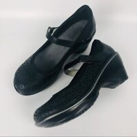 Women's JBU by Jambu Mary Jane shoes size 8 black memory foam