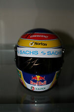 CRAIG LOWNDES HAND SIGNED MINI HELMET 1/2 SCALE UNFRAMED +PHOTO PROOF & C.O.A