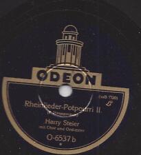 Harry Steier mit Chor und Orchester: Rheinlieder - Potpourri