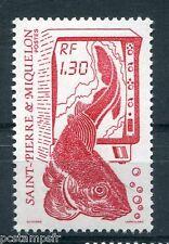 ST-PIERRE-et-MIQUELON, 1988, timbre 490, POISSON, LA PECHE, neuf**