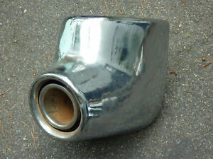 "PACKARD SENIOR CLIPPER 400 CARIBBEAN BUMPER END EXHAUST 1955 ""OR"" 1956"