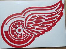 "Detroit Red Wings Car Truck Window Vinyl Decal Sticker NHL 8"" wide x 6"" tall"