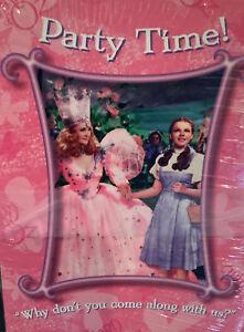 Vintage 1999 Birthday Wizard Of Oz Party Invitation 10
