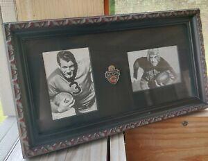 Bronko Nagurski Chicago Bears Pin Red Grange ACEO Fine Art Print Cards HOF
