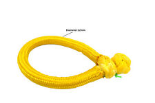 12mm*150mm Yellow quick release soft shackle,ATV Winch Shackle,Synthetic Shackle