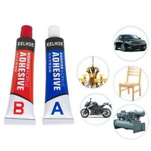 2pcs DIY Super AB Glue Liquid Epoxy Resin Adhesive Metal Glass Wood Repair HOT
