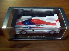 1/43 SPARK S1270 CONCEPT CAR PEUGEOT 908 PARIS 2006