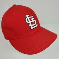 NEW ERA St Louis Cardinals MLB 59FIFTY 5950 Logo Hat Fitted Cap 7 3/8 Made USA