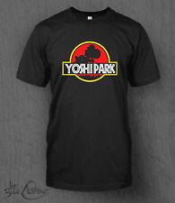 Yoshi Park T-shirt MEN'S Nintendo Super Mario Jurassic Park Top Father's Day