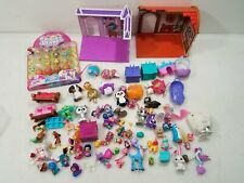 Huge Lot of Squinkies & Other Small Animal Fantasy Toys