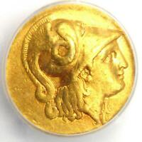 Alexander the Great III AV Gold Stater Coin 323-300 BC - Certified ICG VF35