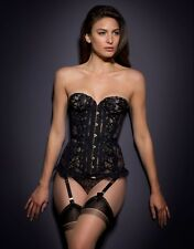 "AGENT PROVOCATEUR RARE BLACK SEXY VERA CORSET SIZE 4 LARGE UK 12-14 34-36"" BNWT"