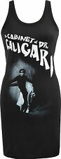 LADIES GOTHIC DRESS CABINET OF DR CALIGARI SILENT HORROR CULT FILM  HALLOWEEN