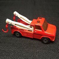 MATCHBOX Superfast No. 61 WRECK TRUCK Made in England 1978 Lesney - w BOTH HOOKS