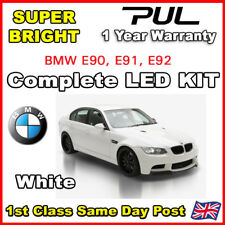 For BMW 3 Series E90 05-10 LED Bulbs Full Interior Kit Set White Error Free 16Ps
