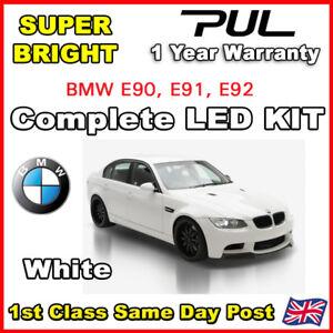 BMW E92 3 SERIES 2004-09 COMPLETE INTERIOR LED LIGHTING UPGRADE KIT 16 LED BULB