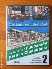 DVD CRISTIANOS EN LA SOCIEDAD 2 - LA AUTENTICA EDUCACION PARA LA CIUDADANIA (I5)