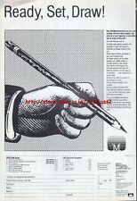 "Melbourne Draw ""Ready, Set, Draw! Vintage Software"" 1983 Magazine Advert #5030"