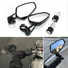 For Yamaha FZ07 MT07 Specific Model CNC Aluminum Black Bar End Rearview Mirrors