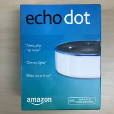NEW AMAZON ECHO DOT (2nd Generation) WITH ALEXA SMART ASSISTANT - WHITE