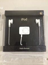 NEW Apple iPod FM Radio Tuner Remote Control for iPod Video/Nano MA070G/B