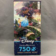 Thomas Kinkade Puzzle Disney Cinderella Wishes 750 Piece Ceaco Puzzle 2903-2