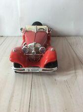 1936 Red Burago Mercedes 500K Roadster Convertible #3020 - 1:20 scale