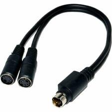 SVHS S-VIDEO Splitter Kabel 4 Polig Adapter Kabel - 2 Zu 1
