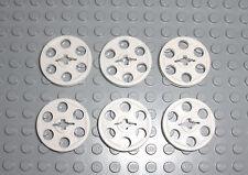 2x LEGO® Technic Riemenscheibe alt-hellgrau 3736 light gray belt wheel