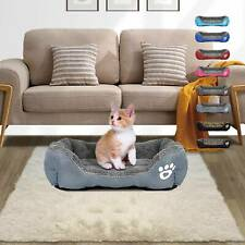 Washable Pet Dog Cat Bed Puppy Cushion House Soft Warm Kennel Mat Blanket