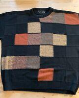 Protege Collection 3D Textured 90s Hip Hop Rap Biggie Cosby Mens Sweater 2xl Xxl