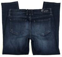 Kut from the Kloth Jeans Womens Size 4 Straight Leg Ankle Stretch Denim