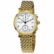 Frederique Constant Women's Classics Gold Tone Stainless Steel Watch FC291A2R5B