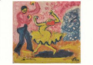 Postkarte: Max Pechstein - Tänzer
