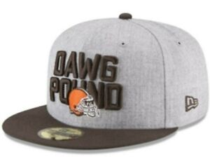 *NWT* New Era Boys Cleveland Browns Draft 59FIFTY FITTED Cap 6 5/8