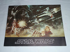 Star Wars: 1977 Vintage Program Book for Preview Screenings of Star Wars Movie