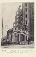 SAN FRANCISCO CA – The Examiner Building After the Earthquake and Fire – udb