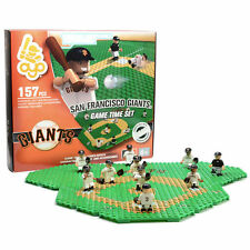SAN FRANCISCO GIANTS GAME TIME FIELD SET 10 FIGURES TRAINER CART MATT DUFFY OYO