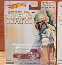 Hot Wheels 2017 Pop Culture STAR WARS BOUNTY HUNTER '60s FORD ECONOLINE PICKUP