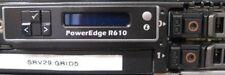 Dell PowerEdge R610 X5670 6 Core CPU@ 2.93GHz 4GB RAM w/ 2x 146GB HDD, iDRAC6