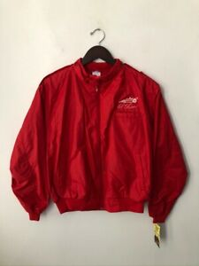 vintage al unser racing jacket mens size medium deadstock NWT 80s made in USA 🏎