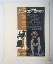 Lyzette Rosado, Calderon En El Tiempo Serigraph '81, Cartel, Puerto Rico Art