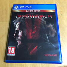 Sony Playstation 4 PS4-Metal Gear Solid V The Phantom Pain Day One Edition