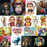 5D DIY Full Drill Diamond Painting Monkey Embroidery Cross Craft Decor Kit Art