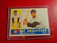 1960 Topps #356 Joe Amalfitano Giants NM NrMt