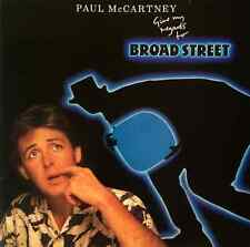 PAUL MCCARTNEY - Give My Regards To Broad Street (LP) (G-VG/G-VG)